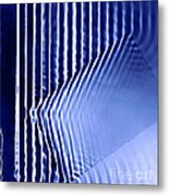 Interference Waves Metal Print