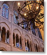 Interior Notre Dame Cathedral Metal Print