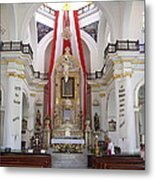 Interior Of Our Lady Of Guadalupe  Metal Print