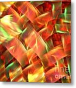 Interlocking Metal Print