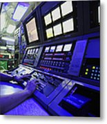Internal Communications Electrician Metal Print