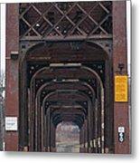 International Bridge 9671 Metal Print