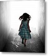 Into The Light Metal Print