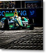 Into The Pit Metal Print