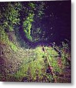Into The Unknown Metal Print by Sarai Rachel