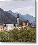 Intragna - Ticino Metal Print