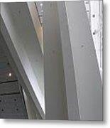 Inverted Escalator Metal Print
