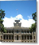 Iolani Palace - No. 003 Metal Print
