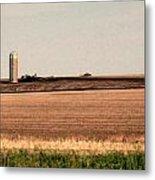 Iowa Landscape V Metal Print