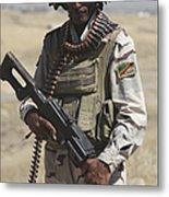 Iraqi Army Soldier Metal Print