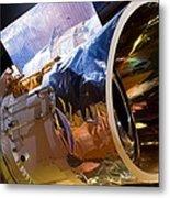 Iras Infrared Astronomy Satellite Metal Print