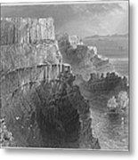 Ireland: Cliffs, C1840 Metal Print