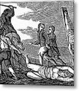 Ireland: Cruelties, C1600 Metal Print by Granger