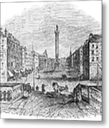Ireland: Dublin, 1843 Metal Print