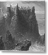 Ireland: Dunluce Castle Metal Print