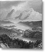 Ireland: Garromin Lake Metal Print