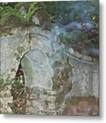 Ireland Ghostly Grave Metal Print by First Star Art