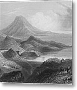 Ireland: Lough Conn, C1840 Metal Print