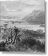 Ireland: Lough Gill, C1840 Metal Print