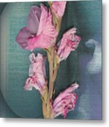 Iris And Egg Metal Print