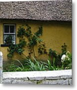 Irish Cottage Metal Print