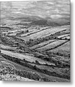 Irish Fields Metal Print