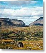 Irish Landscape 100 Metal Print