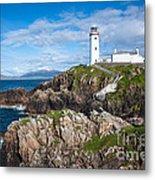 Irish Lighthouse Metal Print