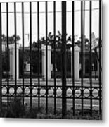 Iron And Pillars Metal Print