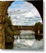 Iron Bridge Centenial Trail Metal Print