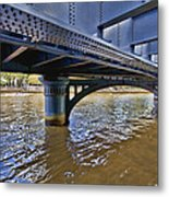 Iron Bridge Metal Print