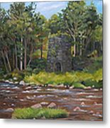 Iron Furnace Of Franconia New Hampshire Metal Print