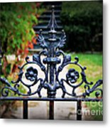 Iron Gate Metal Print