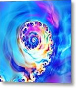 Irridescence Metal Print by Sharon Lisa Clarke