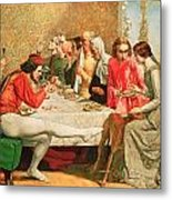 Isabella Metal Print by Sir John Everett Millais
