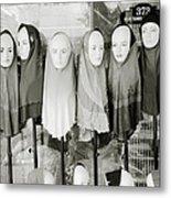 Islamic Mannequins Metal Print