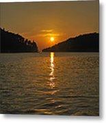 Island's Sunset Metal Print
