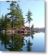 Isle - Natural Reflection Metal Print