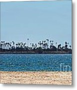 Isle Out There Metal Print