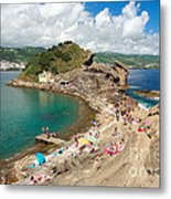 Islet In The Azores Metal Print