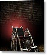 Isolation Through Disability, Artwork Metal Print