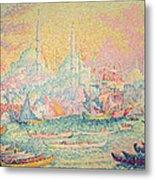 Istanbul Metal Print by Paul Signac