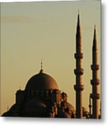 Istanbul Yeni Cami (new Mosque) Metal Print by Andrea Cavallini