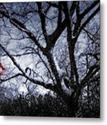 It Happend By The Lamp Post Metal Print