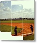 It Was A Great Day For Tball... #sports Metal Print by Kel Hill