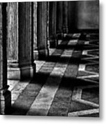 Italian Columns In Venice Metal Print by McDonald P. Mirabile
