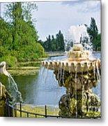 Italian Fountain London Metal Print