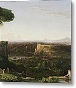 Italian Scene Composition Metal Print