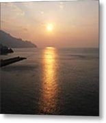 Italian Sunrise Metal Print