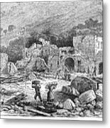 Italy: Earthquake, 1881 Metal Print